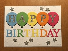 birthday cards for kids Cricut Birthday Cards, Homemade Birthday Cards, Bday Cards, Kids Birthday Cards, Cricut Cards, Homemade Cards, Happy Birthday Cards Handmade, Masculine Birthday Cards, Paper Cards