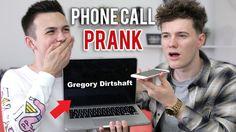 THE NAME DROP PHONE CALL PRANK!  | Samkingftw & Harry Seaton