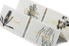 Parallax Design – Lambrook, love the 4 pages cards with the gold foil - really clever. www.mrp.uk.com