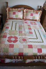 Hasil gambar untuk cubrecamas en patchwork