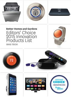 Our editors selected their favorite innovative home products to watch for in 2015. See what made the list here: http://www.bhg.com/smart-home/personal-tech/editor-s-choice-products-2015-consumer-electronics-show/