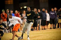 Kevin Durant played flag football at Oklahoma State, on the same fields I used to play on. Too cool.
