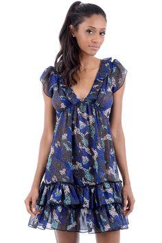 Cheer Chiffon Summer Dress