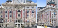 """$80M mansion at 1009 Fifth Ave - built in 1901 by the firm Welch, Smith & Provot, was constructed in the Beaux-Arts style and is rightfully regarded as an architectural tour de force. The limestone and red-brick facade extends 27 ft along Fifth Ave and 100 ft facing 82nd St. The house rises eight stories high and measures approximately 20,000 sq.ft."""" It is one of the 9 remaining mansions of Fifth Ave."""