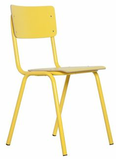 retro battered school chairs to kick off a little theme here of
