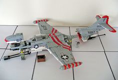 F9F Panther #flickr #LEGO #plane