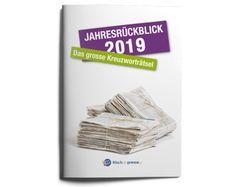 Grosses Kreuzworträtsel mit 70 Fragen zum vergangenen Jahr für den schnellen Einsatz. Das Lehrmittel enthält zudem Kopiervorlagen zur Weiterarbeit und Diplomierung.