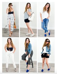 20 different outfits
