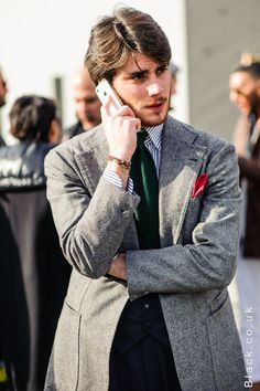 See some of Europe's best dressed men in part 2 of Black.co.uk's Pitti Uomo Street style feature