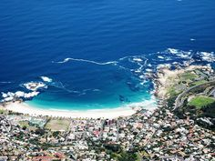 Camps Bay, Cape Town how I miss you! Dream Vacations, Vacation Spots, Oh The Places You'll Go, Places To Visit, Clifton Beach, Cape Town Hotels, European Holidays, Adventure Map, 6 Years