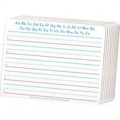 "ChenilleKraft 2-Sided Writing Dry Erase Board  - 12"" x 9"" White Board Size…"