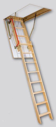 Escalera para altillos plegable arquitectura pinterest for Escalera escamoteable
