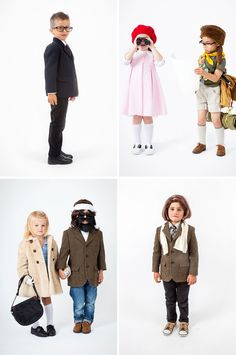How adorable are these hipster costumes?