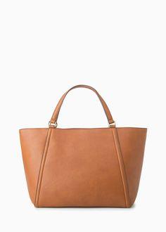 Pebbled shoppper bag