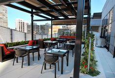 Deca Restaurant & Bar (rooftop in Ritz Carlton) - Michigan & Pearson