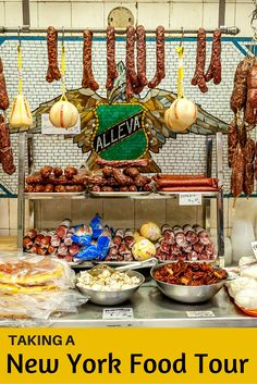 Try the food and learn about the culture of Little Italy and Chinatown on a New York food tour. Experience the stories of immigration and gastronomy.