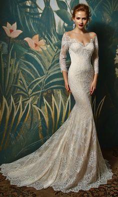 Jadorie, Blue by Enzoani #weddingdress