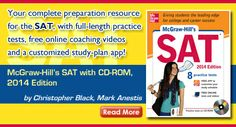 McGraw-Hill's SAT with CD-ROM, 2014 Edition by Christopher Black, Mark Anestis