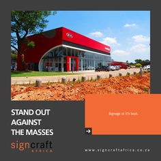 Signcraft Africa, bringing you signage that will stand out among the masses. To find out more about Signcraft Africa, call us on 011474 1315 or email us at info@signcraftafrica.co.za #CEOCircle #signagedesign #signcraftafrica #cladding #insulation #renovation #advertisingart #graphicsdesigns #advertisingcampaign #signdesign #claddingstone #claddingsystems #claddingdesign #claddingwall #claddingsolutions #claddingmaterial #claddingpanels #claddingcleaning #largeformatprinting #vinylwrap #vi Cladding Design, Cladding Systems, Cladding Panels, Cladding Materials, Large Format Printing, Signage Design, Advertising Campaign, Insulation, How To Find Out