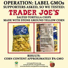 Corn Free Foods At Trader Joe S