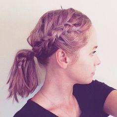 My Purple Hair // neverhomemaker