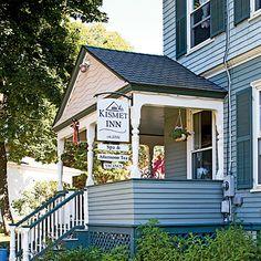 Top 10 Coastal Inns –Kismet Inn: Bath, Maine