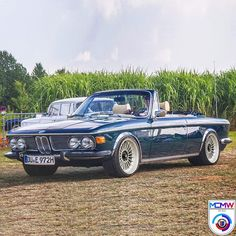 - - You are in the right place about Classic Cars german Here we offer you the most beautiful pictures about the Classic Cars photoshoot you are looking for. When you examine the - - part of Bmw E9, E46 Cabrio, Bmw Vintage, Bmw Alpina, Bmw Classic Cars, Bmw 2002, Car Goals, Cabriolet, Sweet Cars
