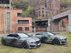Here they are, what do you think?  #camouflage #cla #mercedes #carporn #carwrapping