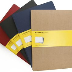 Great size moleskine squared notebook