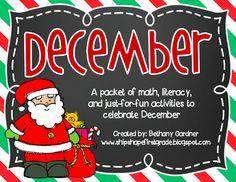 Ship Shape First Grade: The December Packet
