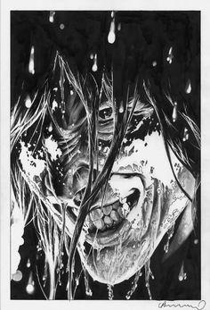 Lee Bermejo - Master of Pencil and Ink - Optimum Wound