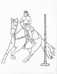 Click Through To Get All Of My Free Rodeo Event Coloring Pages