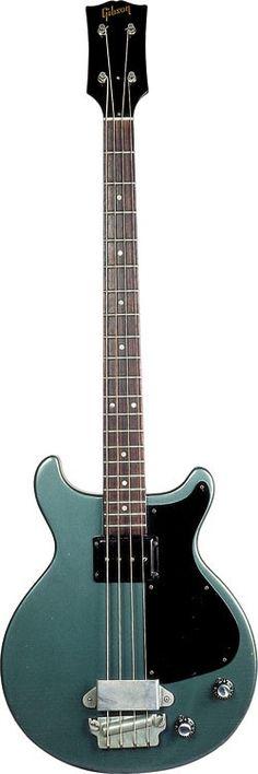 An original 1960 Gibson EB-0 in Pelham Blue
