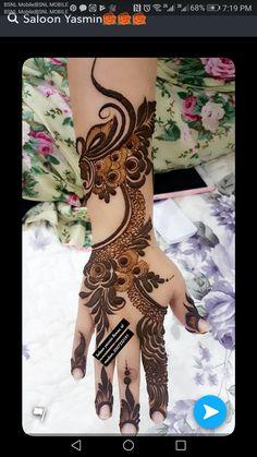 Arabic Bridal Mehndi Designs, Arabian Mehndi Design, Khafif Mehndi Design, Indian Henna Designs, Mehndi Designs Book, Henna Designs Feet, Mehndi Designs For Girls, Stylish Mehndi Designs, Dulhan Mehndi Designs