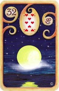 Baralho-Cigano-Carta-32-A-Lua
