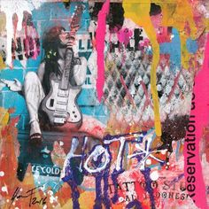 Oeuvre d art unique Hot de l'artiste Yan. F, de style Street Art