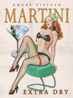 Martini Dry - Propaganda Vintage