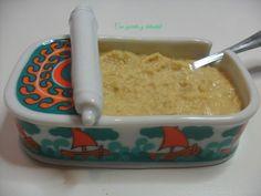 CON GORRITO Y DELANTAL: Paté de atún al curry