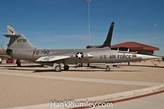 YF-104G Starfighter wide shot at Century Circle at Edwards Air Force Base in #California, November 2010  #AvGeek #aviation #photos