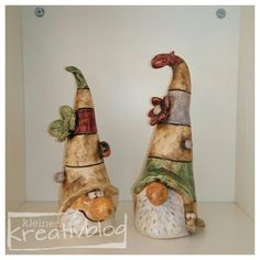 Best Cost-Free Pottery for Beginners ceramics Suggestions Hand Built Pottery, Pottery Art, Pottery Ideas, Gnome Garden, Garden Art, Garden Drawing, Sculpture Romaine, Photo Halloween, Hobbies To Try