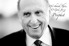 LOVE this picture of President monson