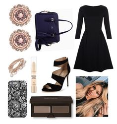 """""""Becky from THE BACHELORETTE"""" by hailey-smith-13 ❤ liked on Polyvore featuring Maybelline, Kate Spade, Laura Mercier, Hobbs, Carvela, Ted Baker and Marjana von Berlepsch"""