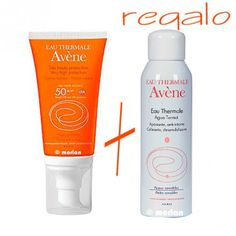 Avene Solar Crema SPF 50+ Coloreada, 50ml+Regalo Agua Termal, 50ml