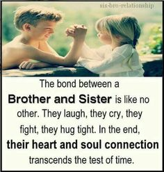 Tag-mention-share with your Brother and Sister 💙💚💛🧡💜👍 Brother Sister Love Quotes, Brother And Sister Relationship, Brother Birthday Quotes, Sister Quotes Funny, Brother Sister Quotes, Brother And Sister Love, Nephew Quotes, Daughter Poems, Siblings Funny