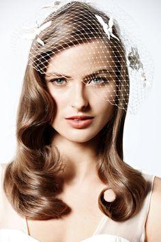 BHLDN Hair Styles 'Vintage Make'.