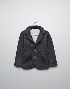 special fabric sports jacket - Coats - Baby boy (3-36 months) - Kids - ZARA