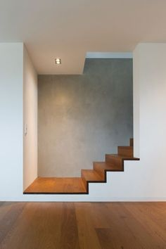 Sockelprofil bestehend aus Grund- und Deckprofil - Privathaus, Südpfalz The Effective Pictures We Offer You About iron Stairs A quality picture can tell you many things. Architecture Design, Stairs Architecture, Interior Stairs, Interior And Exterior, House Stairs, Stairs Window, Staircase Design, Modern Stairs Design, Contemporary Stairs