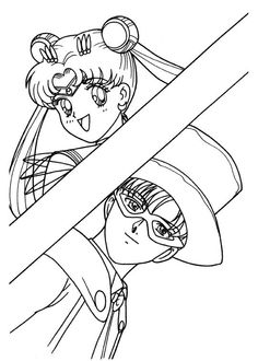 130 best Sailor Moon coloring book images on Pinterest   Coloring ...