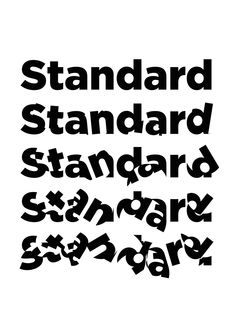 what is standard...?