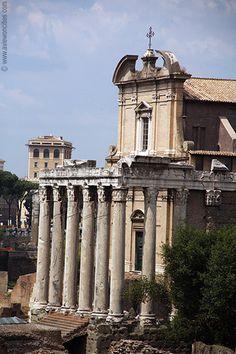 Temple of Antoninus and Faustina, Forum Romanum